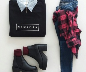 pretty, fashion, and outfit image