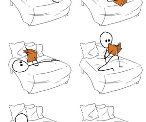 book, reading, and funny image