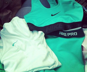 nike, fitness, and teal image
