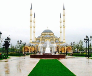 mosque and chechnya image