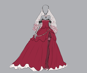 anime, clothing, and draw image