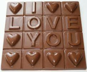 chocolate, I Love You, and heart image