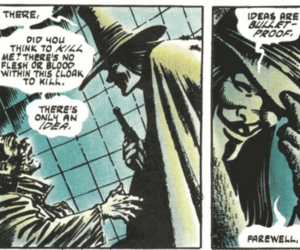 comic, ideas, and v for vendetta image
