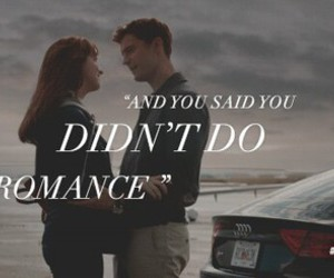 romance, fifty shades of grey, and love image