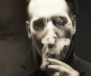 Marilyn Manson, antichrist, and Devil image
