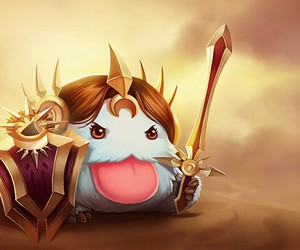 leona, league of legends, and poro image