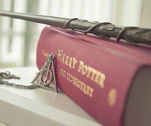 harry potter, book, and magic image