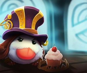 caitlyn, league of legends, and poro image