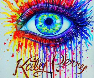 colors and katy perry image