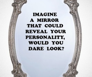 mirror, personality, and quote image
