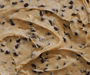 food, cookie dough, and Cookies image
