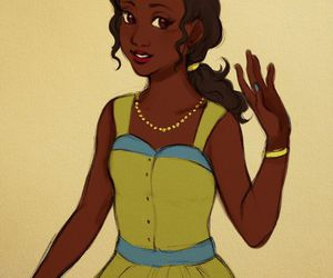 disney, tiana, and princess and the frog image