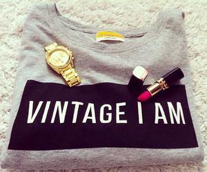 fashion, vintage, and lipstick image