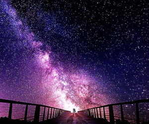 sky, galaxy, and stars image