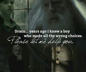 draco malfoy, dumbledore, and Tom image