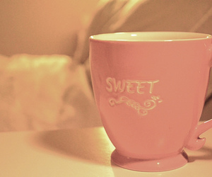 sweet, cup, and pink image
