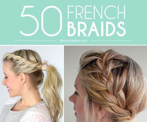 hair, hairstyles, and braids image
