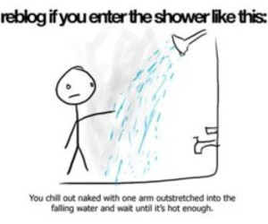 Hot, sayings, and shower image