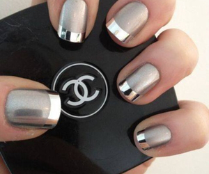 nails, nice, and silver image