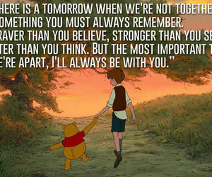 quote, disney, and winnie the pooh image