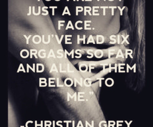 fifty shades of grey, christian grey, and quotes image
