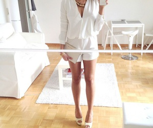 shorts, go out, and fashion image