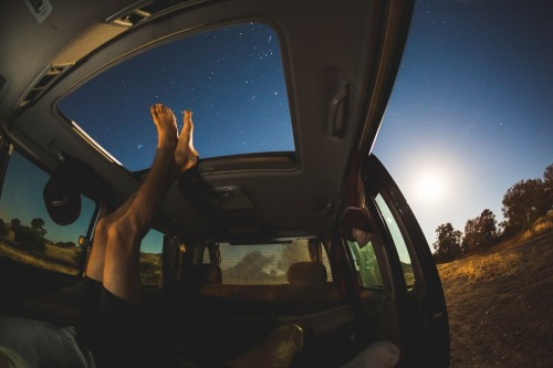 stars, car, and sky image