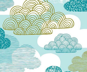 clouds, blue, and wallpaper image