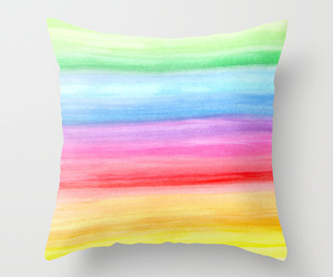 cushion, watercolours, and ornaart image