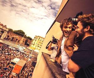 douglas booth, fans, and sam claflin image