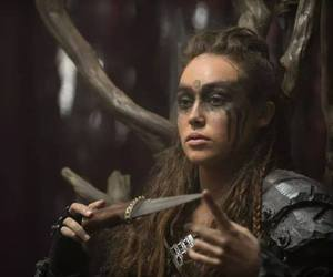 the 100 and lexa image