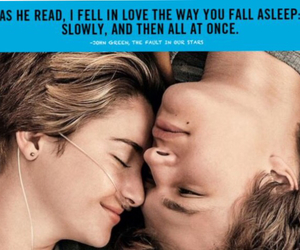 fault, quote, and stars image