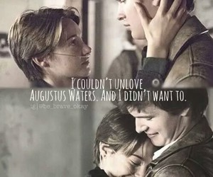 love, augustus, and hazel image