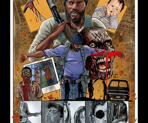 the walking dead, twd, and tyreese image