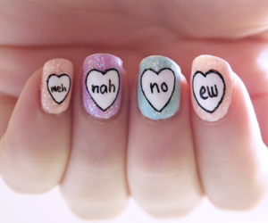 nails, nah, and no image