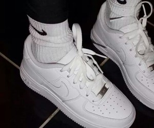 nike, white, and tumblr image