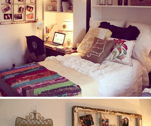 bedroom, room, and decoration image