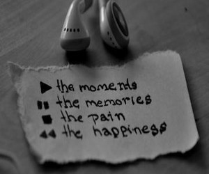 music, moment, and memories image