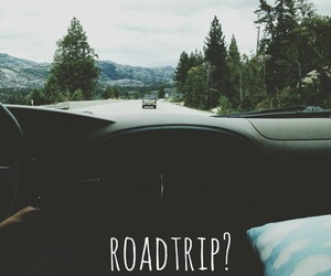 road, roadtrip, and street image