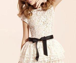 dress, model, and barbara palvin image