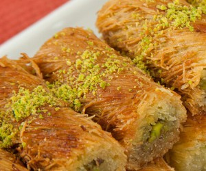baklava, foods, and istanbul image