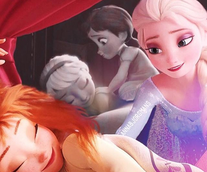 adorable, frozen, and once upon a time image