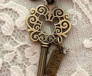 believe, keys, and love image