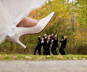 bride, creative, and funny image