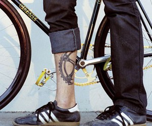 tattoo and bike image