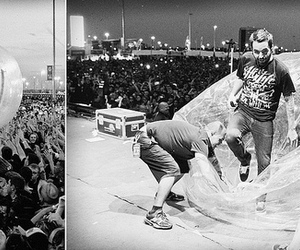 b&w, a day to remember, and adtr image