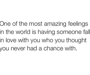 amazing, chance, and fall in love image