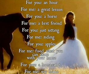 best friend, horse, and riding is my life image