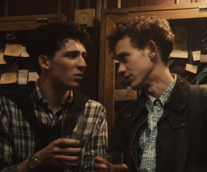 olly alexander, the riot club, and josh oconnor image
