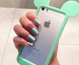 fingers, nail polish, and girls image